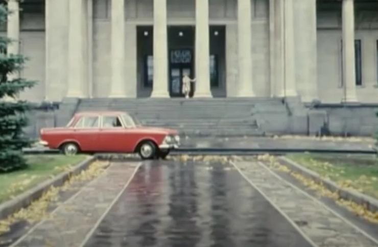 Машина Шефа из «Бриллиантовой руки». Легендарный «Москвич 408»