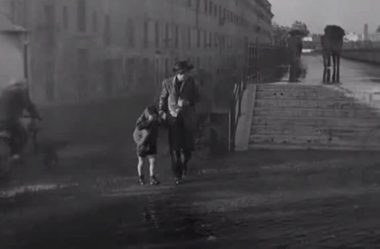 Дождь в Похитителях Велосипедов