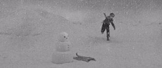 Гражданин Кейн играет в снежки