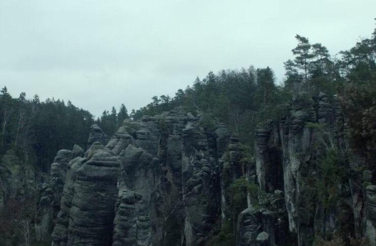 Праховские скалы Карнивал Роу
