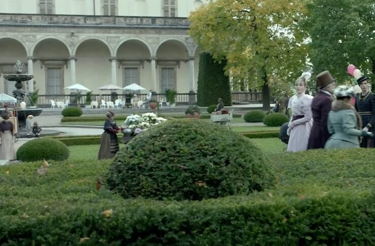 Летний дворец королевы Анны Карнивал Роу